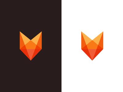 Fox / logo design lgo design pet coyote animal character fox logo geometric design startup minimalistic logo smart foxter deividas bielskis identity branding logo geometric transparent mascot animal fox