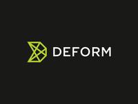 Deform / logo design