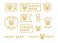 Angry Bear / logo design