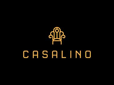 Casalino / logo design luxury branding logo armchair chair trone furniture