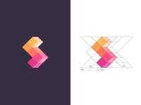 S / logo design