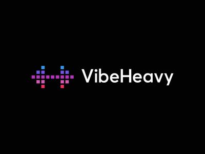 Vibeheavy / logo design