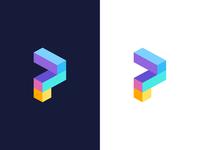 P / logo design