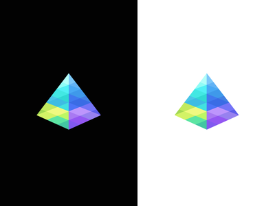 Prism / spectrum / light / logo design
