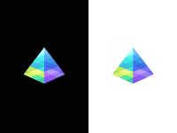 Prism / spectrum / light / logo design