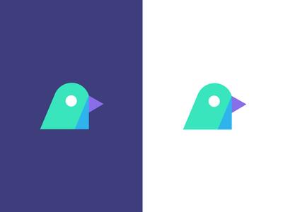 bunting / bird / logo design