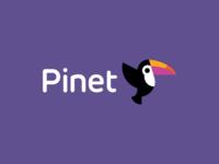 Pinet / logo design
