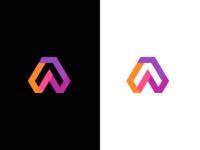 A / logo design