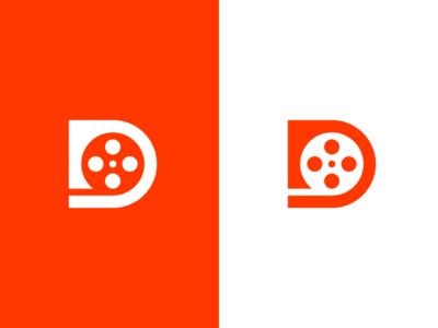 D / Film / logo design