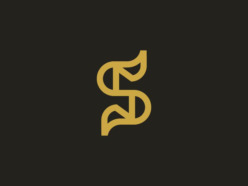 S / logo design by Deividas Bielskis on Dribbble