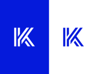 K / logo design