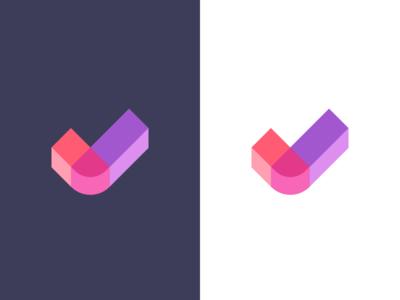 checkmark / logo design