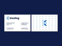 Kiesling / business cards