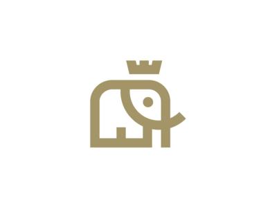 elephant / logo design