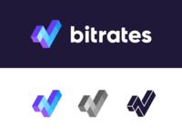 Bitrates / logo design