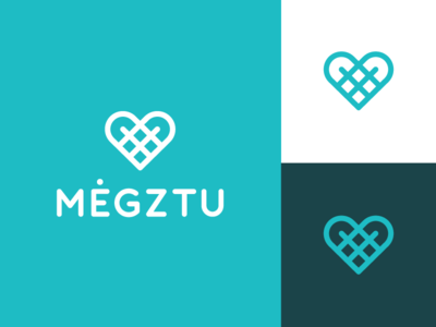 Megztu gloves glove typography iconic logo like crocheting knitwork yarn knit knitwear knitted megztu hand crafted handcraft knitting love heart