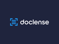doclense, photo scanner,  logo design