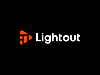 lightout, logo design