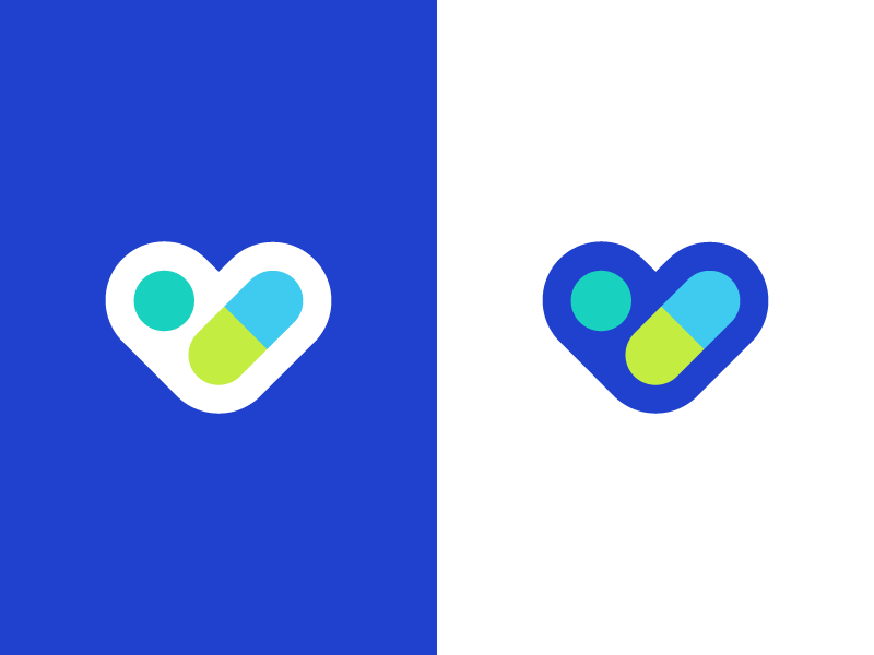 pharmacy logo identity heartiness media logo geometric health care love doctor medical medicines medicine pharmaceuticals tablet pill health drugs pharmacy