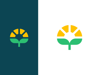 Tree, plant, sun, logo deign clever organic rural agronomic agro plant eco tree logo sun green eco friendly ecology farm farming nature seeding grow herb flower