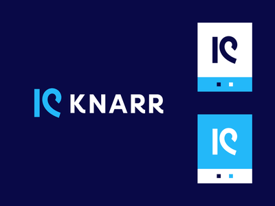 knarr wave surf naval water software analytics sea ocean technology vector monoline flood stream rush data visual identity startup iconic logo organic branding
