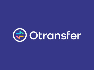 Otransfer by Opera money finance app mark branding identity financial app transaction financial logo gradient gradients arrows transfer