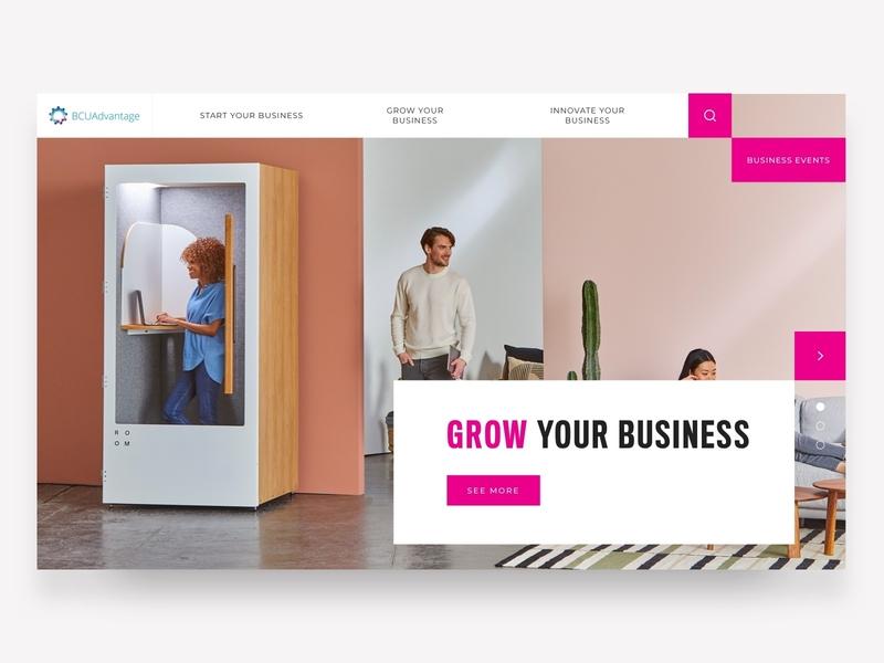 Birmingham City University Advantage web ux ui webdesign