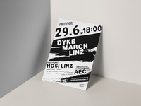 Dyke March Linz Flyer