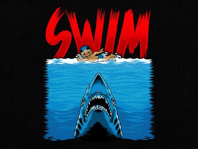 JAWS Remake Design for T-shirt
