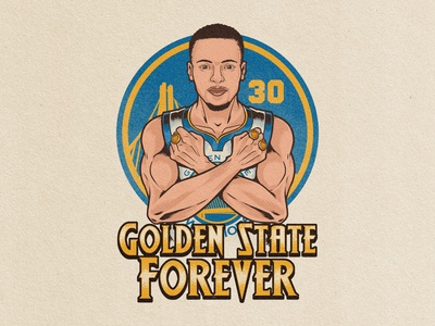 """Stephen Curry """"Golden State Forever"""""""