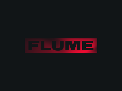 FLUME flume design logo brand debut first shot