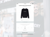 Daily UI 012 E-Commerce Shop (Single Item)