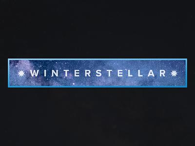 * winterstellar * logo wordmark naming
