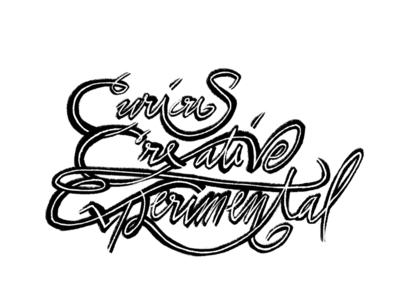Curious, Creative, Experimental