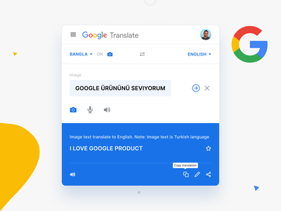 Google Translate Redesign Concept website webdesign clean typogaphy ux ui product design google translate google