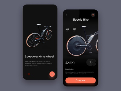 Bicycle Store App shop ecommerce typogaphy product design app mobile ux ui bicycle store app bicycle