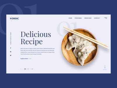 Restaurant landing page typography ux ui uiux website webdesign clean landingpage userinterfacedesign visualdesigner restaurentlandingpage restaurantlanding foodlandingpage foodlanding restaurant food