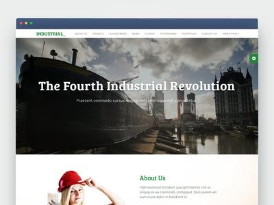 INDUSTRIAL - Multipurpose Corporate Responsive HTML Template