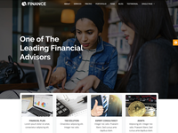 Finance - Multipurpose Business Responsive HTML Site Template