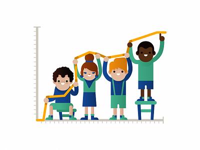 Diversity flat graczyk waldek toptal diversity illustration vector