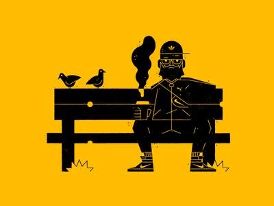 Slavic Spirit vector ai yellow baby pigoen waldek illustration illustrator