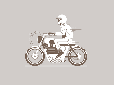 Biker vector fast driving biker illustration illustrator