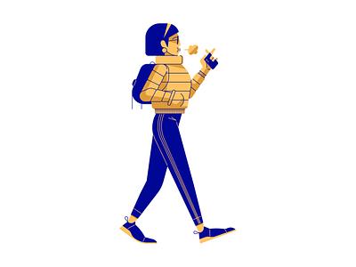 Vaping glasses vector walk adidas person character vape walking