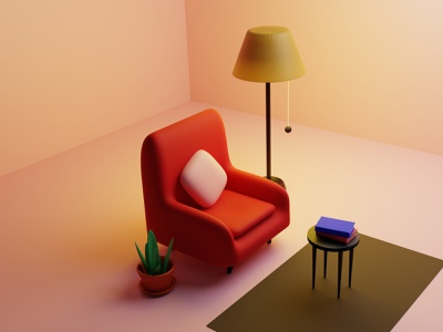 Cosy nook 3d modeling art cosy room 3d chair room blender 3d illustration 3d art 3d uiuxdesign drawing illustration uxdesign uidesign ux uiux design uiux ui dailyui