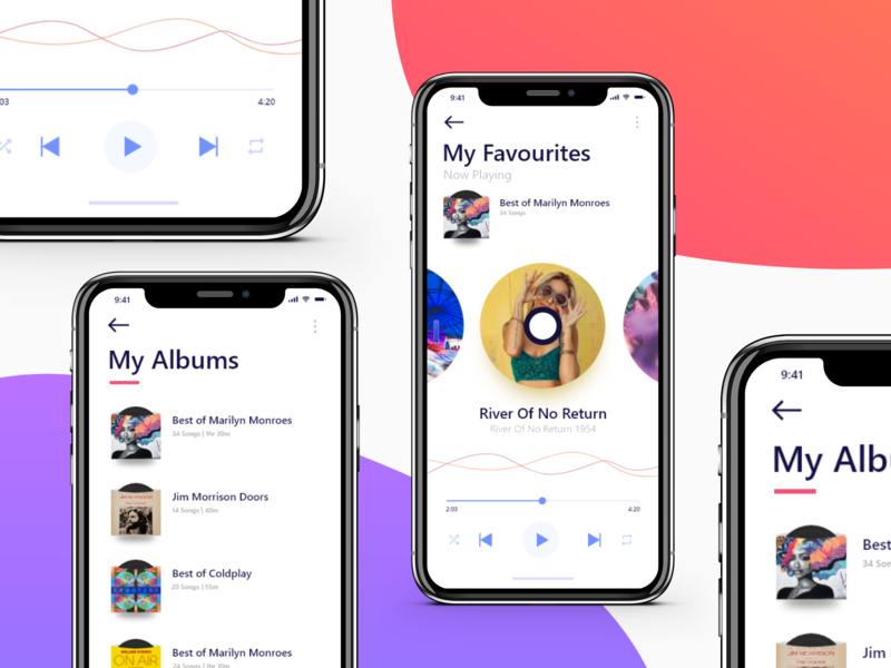 Music Player App gramaphone record music player music app design uiux design uiuxdesign app uxdesign dailyui drawing design adobe illustration ux dribble uidesign adobexd uiux ui