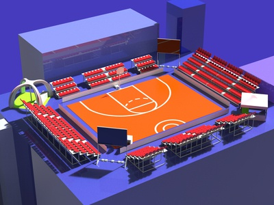 3x3 basketball keyshot 9 3drender basketball gym sports 3dvisualization agency gamedesign game illustration 3dmodeling rhinoceros keyshot modeling rendering design 3d