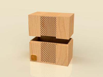 HOOR ( BOX DESIGN ) brand parametric minimal 3dmodeling rhinoceros product modeling keyshot rendering 3d