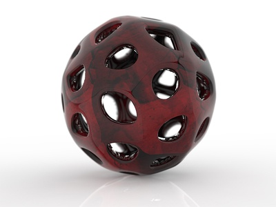 BALL parametric rendering modeling design product 3d
