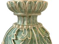 Vase * green marble *