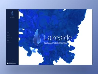 Lakeside Homepage Design user interface user experience web design graphic design graphics design logo video animation branding ux ui